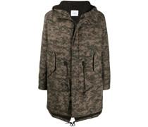 pixel camouflage coat
