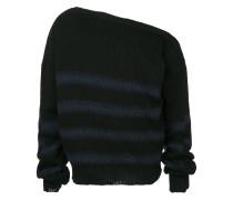 oversized buckle detail jumper