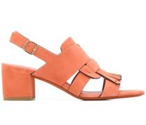 Slingback-Sandalen mit Zierlasche