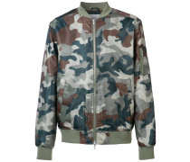 Bomberjacke mit Camouflage-Print - men