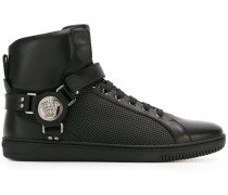 'Medusa' High-Top-Sneakers mit Harness