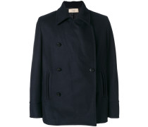 Caban doublebreasted coat