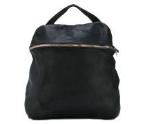 front double zip backpack