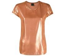 T-Shirt im Metallic-Look