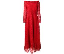 Kleid mit floraler Spitze - women
