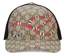 Rap Baseball Cap with Snake and GG Logo