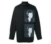 X Robert Mapplethorpe Hemd mit Portrait-Print