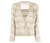 Einreihiger Tweed-Blazer