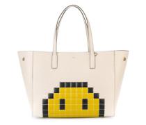 'Ebury' Shopper mit Pixel-Smiley