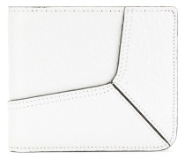 paneled billfold wallet