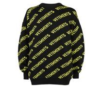 logo crew neck jumper