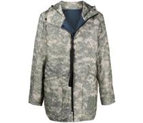 Wendbare ACU Jacke mit Camouflage-Print