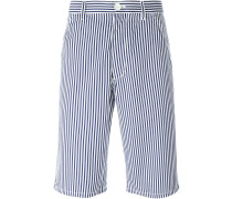 Gestreifte Shorts