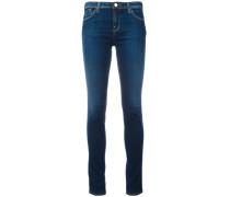 Skinny-Jeans mit Stonewash-Effekt