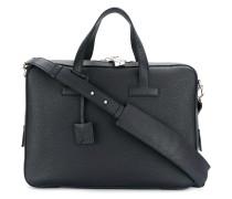 textured briefcase