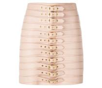 multi buckle skirt