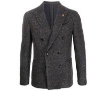 Doppelreihiges Tweed-Sakko