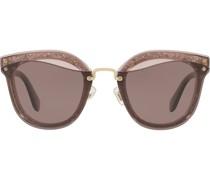Sonnenbrille im Wayfarer-Design