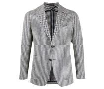Tweed-Sakko mit Vichy-Karo