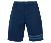 striped detail bermuda shorts - men - Baumwolle