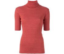 - T-Shirt mit Rollkragen - women - Baumwolle - L