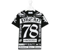 - T-Shirt mit Print - kids - Baumwolle - 6 J.