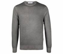 crew-neck cashmere jumper