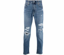 Schmale 512 Distressed-Jeans