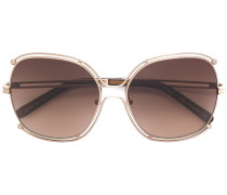 'Mandy' Sonnenbrille mit Oversized-Gläsern