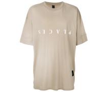 Oversized-T-Shirt aus Baumwolle