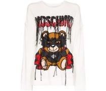 Pullover mit Dracula Teddy-Print