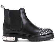 Chelsea-Boots mit Nieten - women - Kalbsleder