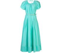 Kleid mit plissierten Details