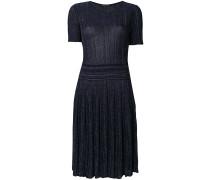 glitter pleated dress