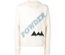 """Pullover mit """"Powder""""-Schriftzug"""