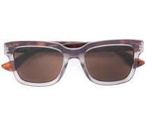 tortoiseshell contrast sunglasses