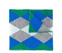 Fein gestrickter Schal mit Argyle-Muster