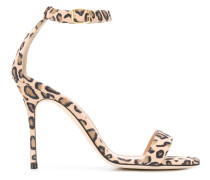 'Chaos' Sandalen mit Leoparden-Print