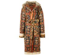 belted carpet coat