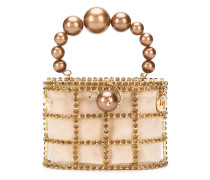 'Holli' Handtasche mit Perlen