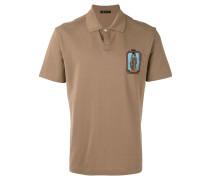 Poloshirt mit Patch - men - Baumwolle - XL
