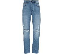 'Studio' Jeans in Distressed-Optik