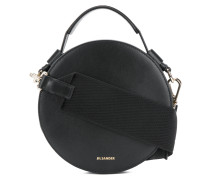 round tote shoulder bag