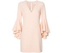 Kleid mit Volantes-Ärmeln