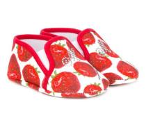 strawberry print pre-walkers