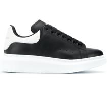 Oversized-Sneakers aus Leder