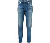 Skinny-Jeans mit gekürzter Passform