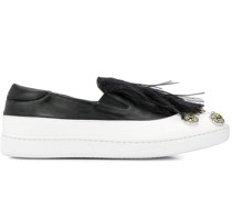 Slip-On-Sneakers mit Federn