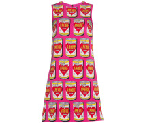'Can Of Amore' Seidenkleid in A-Linie