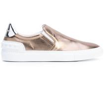 SlipOnSneakers in MetallicOptik